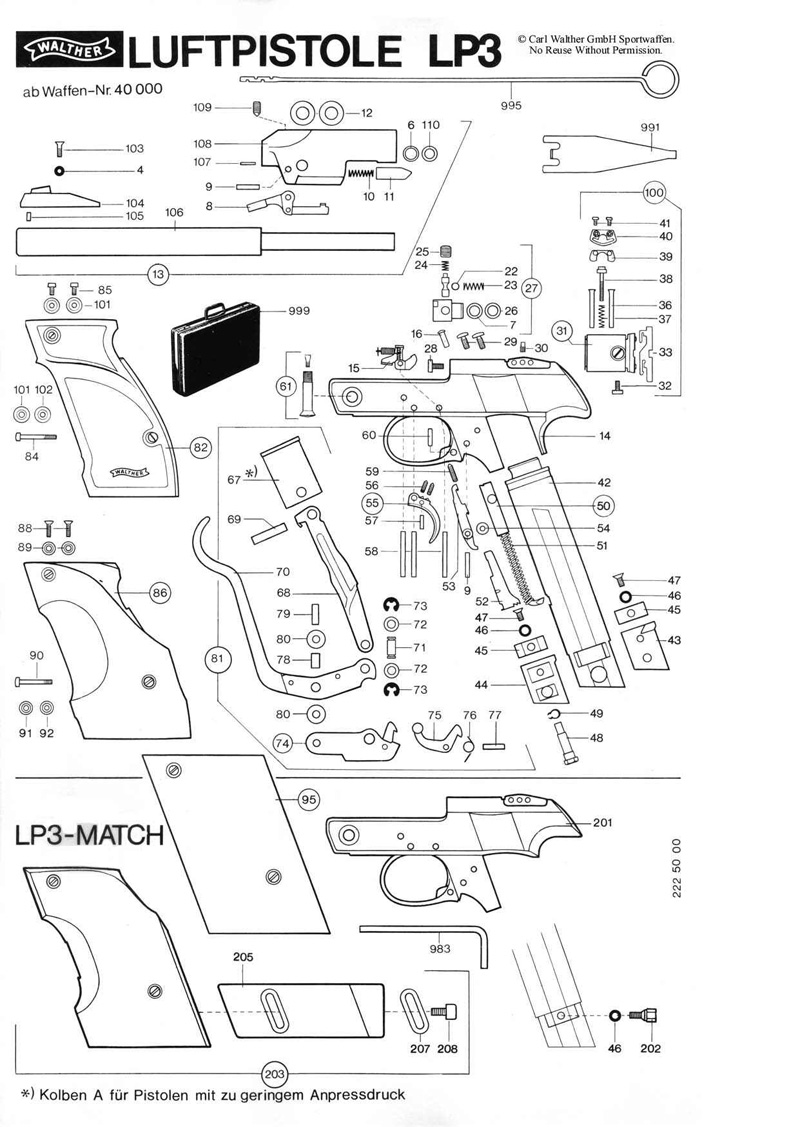 Walther P Schematic on